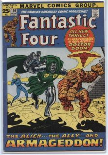 Fantastic Four 116 FN 6 0 Dr Doom Appearance 52 Pages