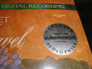 Galimir Quartet SEALED Audiophile Digital LP Ravel Debussy String Quartets