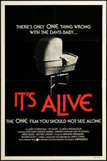 It's Alive 1974 Original U s One Sheet Movie Poster