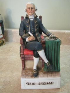 McCormick Vintage Whiskey Decanter John Hancock USA Patriotic