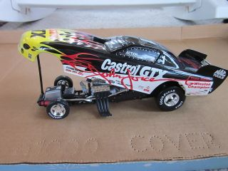 JOHN FORCE 1996 6X CHAMP CASTROL GTX 1 24 ACTION MAC TOOLS FUNNY CAR New