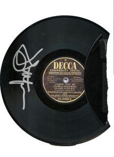 JOHN LITHGOW signed ALL MY SONS PROP broken record Shrek Katie Holmes BROADWAY