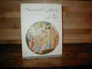 National Gallery of Art 1956 Illus Folio PB John Walker Tipped in Color Plates