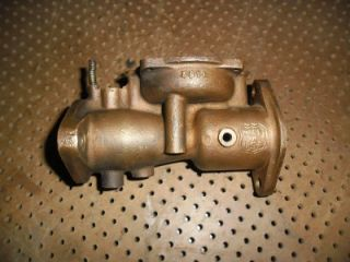 Ensign 5B1J Brass Carburetor Body for 1929 John Deere GP
