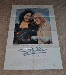 Stella 1990 Original One Sheet Movie Poster 1sheet Bette Midler John Erman