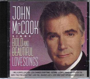 John McCook Sings Bold and Beautiful Lovesongs Out of Print South African CD