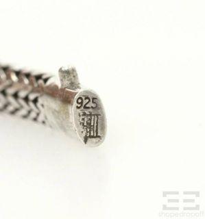 John Hardy Sterling Silver 18K Gold Woven Bracelet Dot Collection