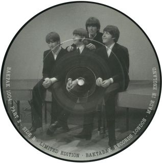 The Beatles RARE Interview Picture Disc Collection from Baktabak Records