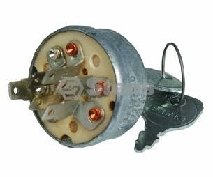 Ignition Key Switch John Deere 108 112 116 Starter New