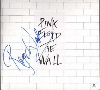 ROGER WATERS SIGNED PINK FLOYD THE WALL AUTOGRAPHED ALBUM GLOBAL AUTHENTICS