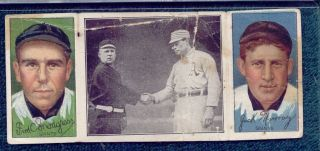 1912 T202 Hassan John McGraw Just Before The Battle Vintage Baseball Old Card