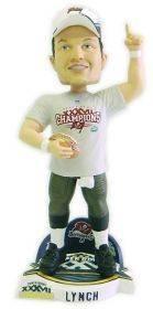 "John Lynch Tampa Bay Bucs Super Bowl XXXVII Champs 9"" Bobble Head New"