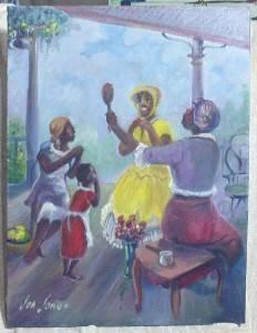 Pretty Ladies of the Old West African American Chicago artist Jon Jones