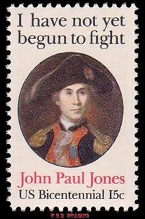 Scott 1789A John Paul Jones 15c Perforated 11 x 11 Variety Stamp MNH Buy Now