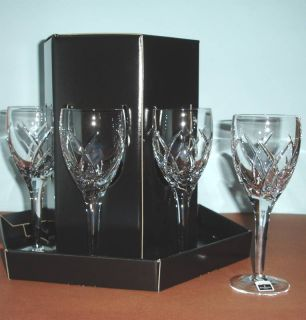 Waterford John Rocha Signature White Wine Glasses Set of 6 Gift Boxed New