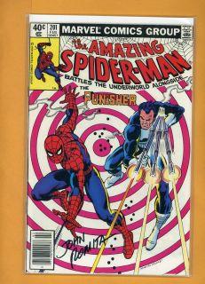 John Romita SR The Amazing Spider Man 201 Hand Signed Autograph Comic Book COA