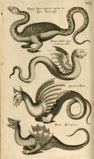 John Jonstons HISTORIAE NATURALIS in 7 volumes 1650 1657