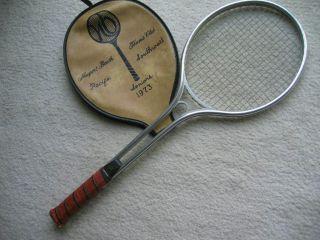 Vtg John Newcombe Rawlings Tennis Racquet