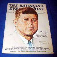 1975 SEPTEMBER SATURDAY EVENING POST MAGAZINE NORMAN ROCKWELL JOHN F KENNEDY N S