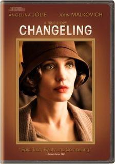 Changeling Angelina Jolie John Malkovich DVD 2009 Widescreen
