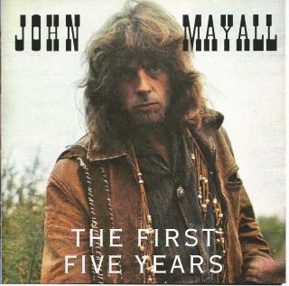 John Mayall The First Five Years CD 1995 Blues Rock Eric Clapton Peter Green