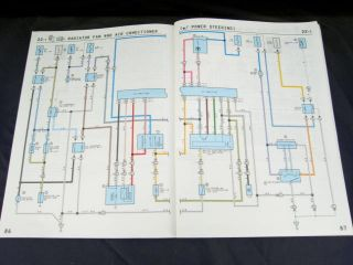 1989 89 Toyota Tercel Electrical Manual Wiring Diagrams