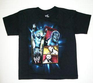 NWT Boys WWE John CENA T Shirt sz 5 6 Wrestling RAW Superstars