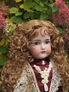 "Kammer Reinhardt Simon Halbig Antique German Bisque 26"" Doll Original Body"