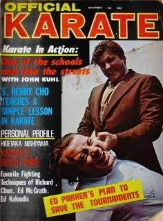 12 70 Official Karate Ed Parker John Kuhl Black Belt Karate Kung Fu Martial Arts