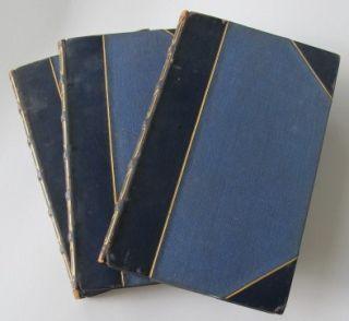 John Ruskin The Stones of Venice Three Volumes Fine Binding Oxford Binding
