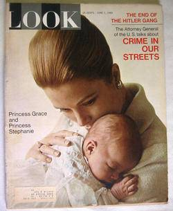 1965 June 1 Look Magazine Hitler Gang Princess Grace Monaco Tony Oliva