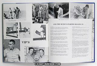 USS King DLG 10 Westpac Vietnam Cruise Book 1972 1973