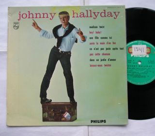 Johnny Hallyday Madison Twist No 3 Orig French France '62 Philips LP 25cm 10""