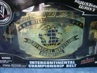 WWE Intercontinental Championship Belt Johnny Nitro Entertainment Inc 2006
