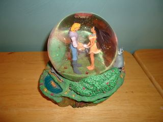 Pocahontas John Smith Disney Musical Snow Globe Snowglobe Colors Of The Wind