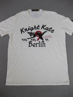 Knight Katz Beige Johnson Motors Lucky Tee Shirt Berlin