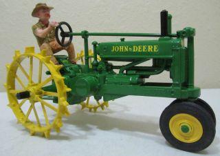 RARE 1 16 ERTL JOHN DEERE MODEL A FOXFIRE FARM LOWELL DAVIS W FIGURINE DAN 5
