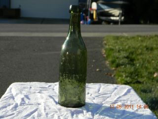 Blob Top Chas Joly No 9 Philadelphia Antique Bottle