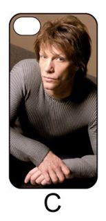 Jon Bon Jovi iPhone 4 4S 5 Hard Back Case Cover