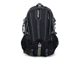 Men women outdoor travel backpack hiking Camping sport waterproof new BLACK