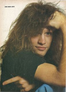 Jon Bon Jovi Teen Magazine Pinup clipping Tiger Beat Bop Sale