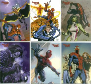 SPIDER MAN ARCHIVES Rittenhouse 2009 Complete Trading Card Set ALL NEW ART