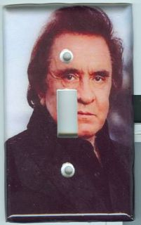 Johnny Cash Light Switch Cover