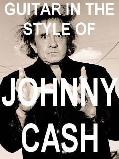 Johnny Cash Style Guitar Lessons DVD Video Johnnie Lead