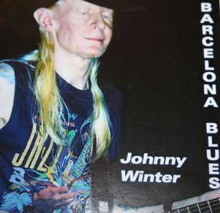 JOHNNY WINTER Barcelona Blues CD 40 OFF SALE