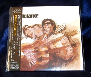 Jose Feliciano Japan Made Limited Mini LP CD New Out of Print Sicp 2556