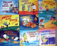 Lot of 9 FROGGY Series childrens books by Jonathan London paperback reader NEW