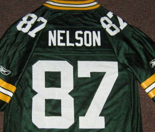 Jordy Nelson 87 Green Bay Packers Reebok Jersey s Small New NFL Womens