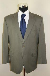 Jos A Bank Men's Suit Jacket 46 R Gray Green
