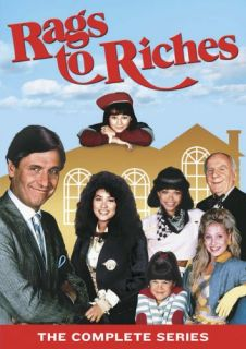 RAGS TO RICHES THE COMPLETE SERIES New Sealed 2 DVD Set